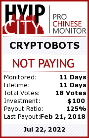 Monitored by hyipcity.com